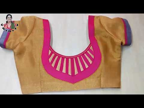 King prussia cutting model tamil video blouse neck dance