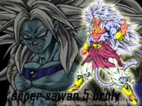 super saiyan broly 1 to 10 youtube