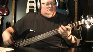 Deep Purple Perfect Strangers Bass Cover with Notes & Tablature, Marcus Miller Sire M3