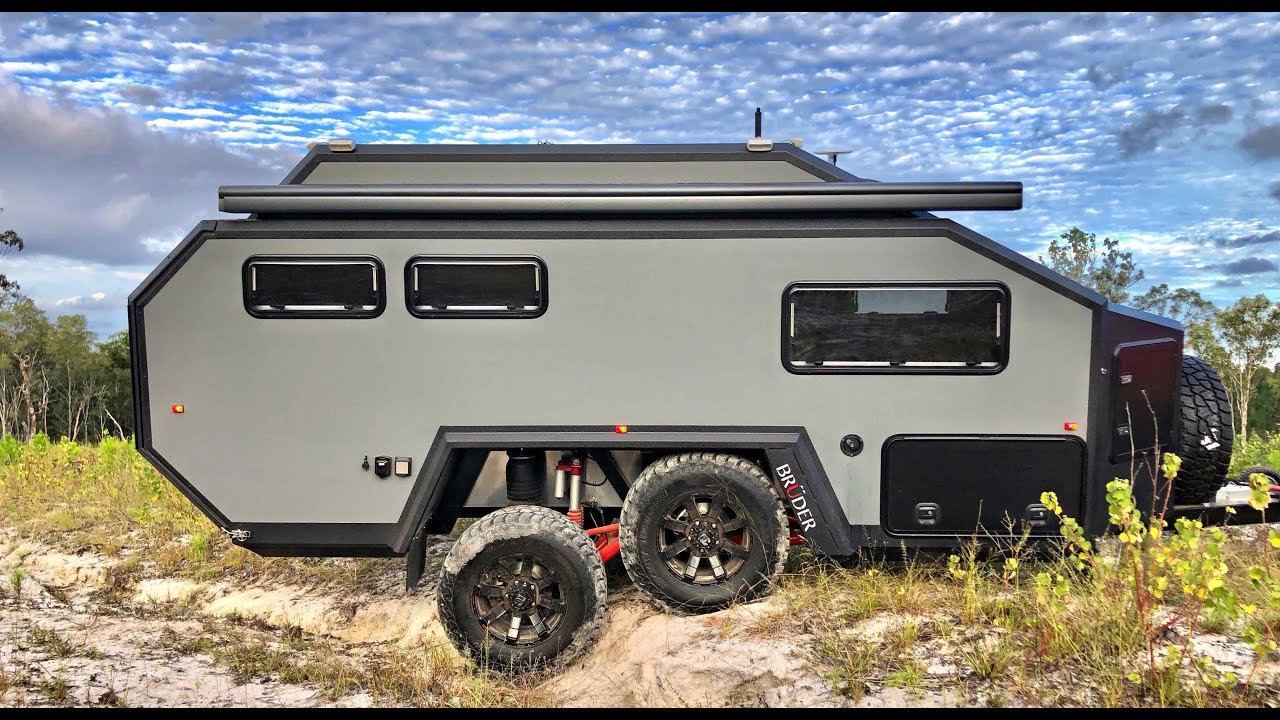Bruder Exp 6 Expedition Trailer Detailed 2019 Youtube