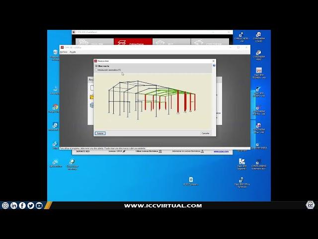 Presentación Estructuras metálicas con CYPE3D