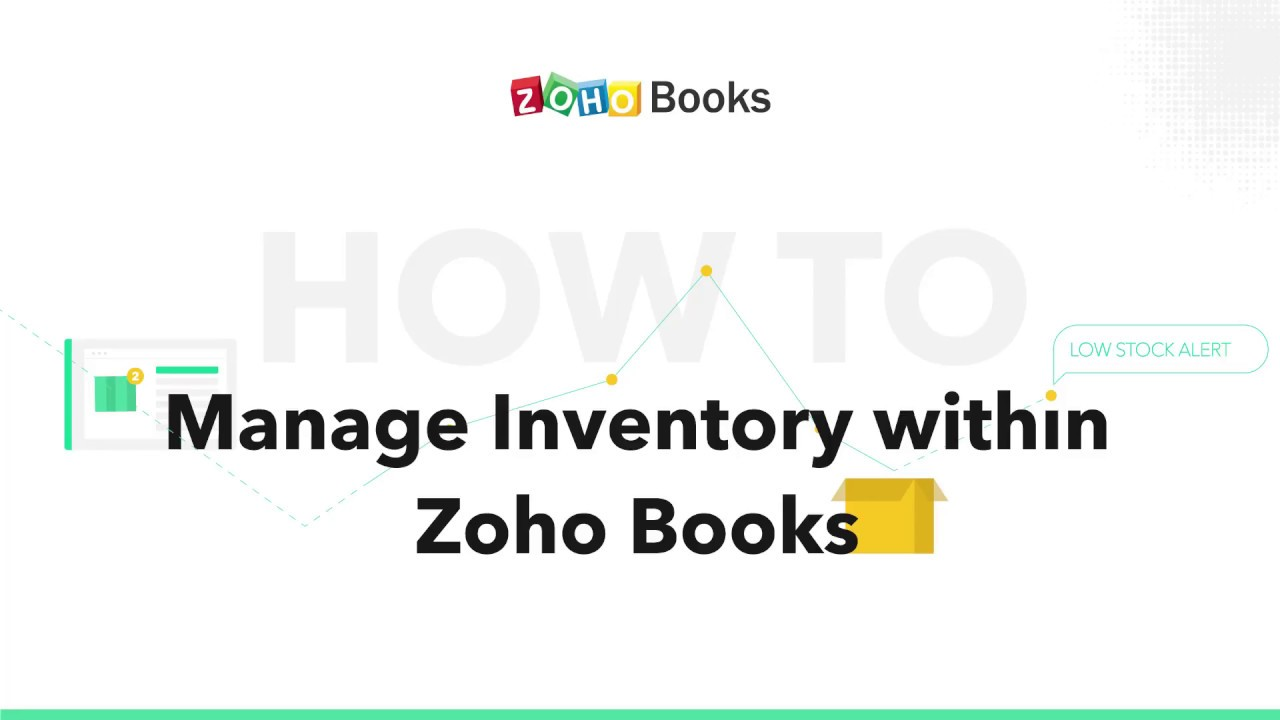 How to manage inventory with Zoho Books