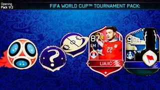 GREATEST REWARDS OPENING- WORLD CUP TOURNAMENT IN FIFA MOBILE - Gameplay Review / Fantasy Matches