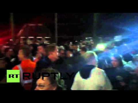 Netherlands: Right-wing protesters riot against arrival of 1,500 refugees