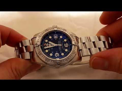 2008 Breitling SuperOcean Steelfish A17390
