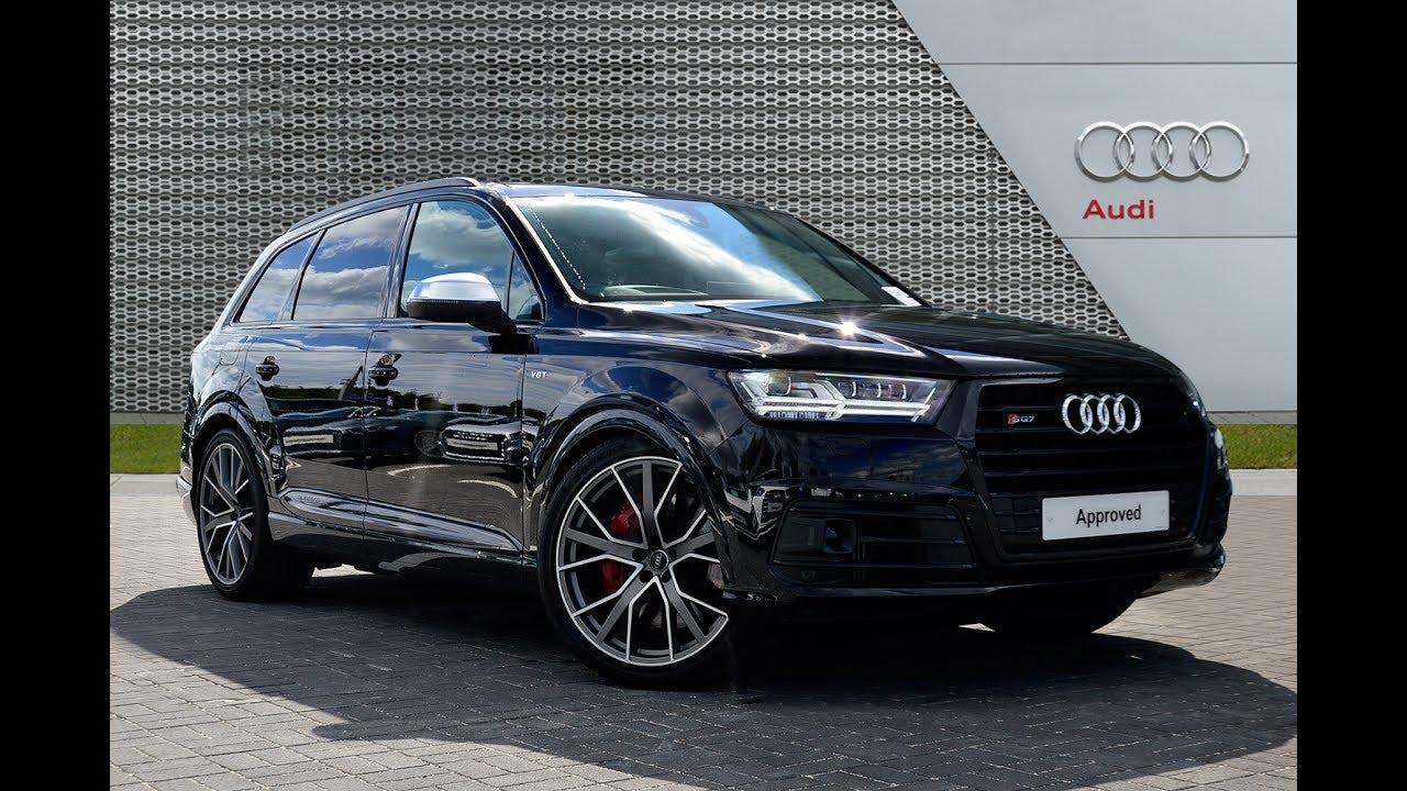 Audi Q7 Sq7 Tdi Quattro Black 2017
