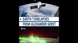 Earth timelapses in 4K