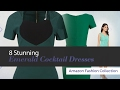 8 Stunning Emerald Cocktail Dresses Amazon Fashion Collection
