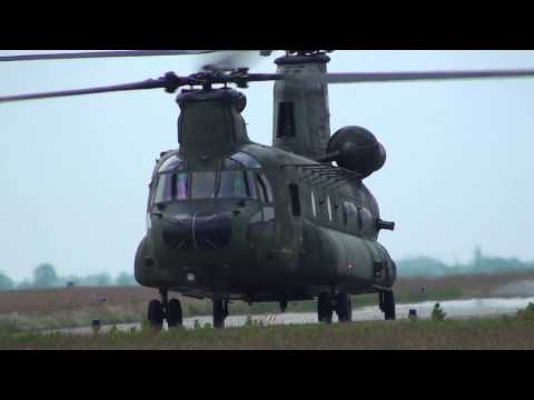 Boeing CH-47D Chinook D-101 and Boeing AH-64 Apache