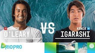 Connor O\'Leary vs. Kanoa Igarashi - Round Two, Heat 12 - Oi Rio Pro 2018