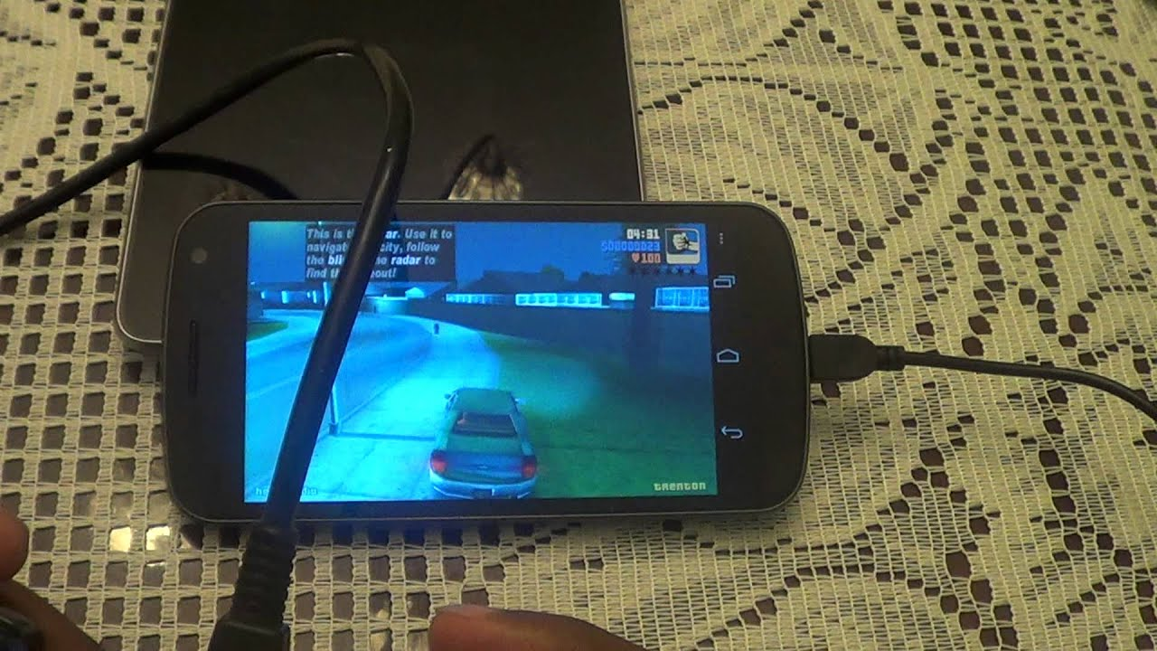 how to play video with otg lead on galaxy