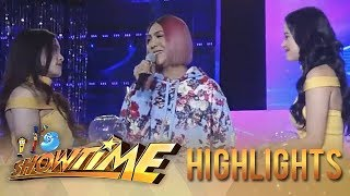 "It's Showtime Miss Q & A: Heartrending lines with Vice, Bela and ""Ate Girl"""