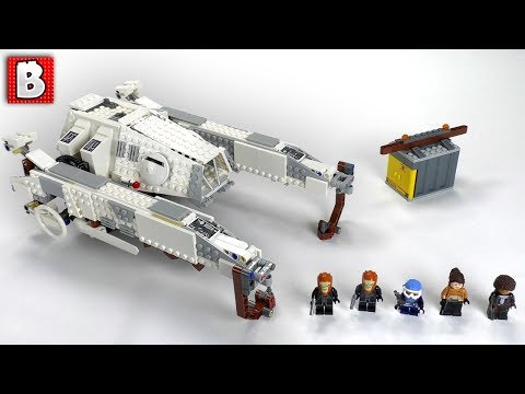 LEGO Star Wars Imperial ATHauler !  SOLO Movie Set 75219