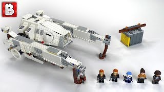 LEGO Star Wars Imperial AT-Hauler Review! | SOLO Movie Set 75219