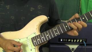 Jimi Hendrix - Wind Cries Mary - Guitar Solo Lesson