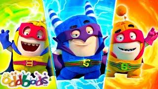Superheroes Estão Na Área 🔴  Oddbods AO VIVO 🔴  Desenhos Animados Para Crianças 🔴   Oddbods Brasil