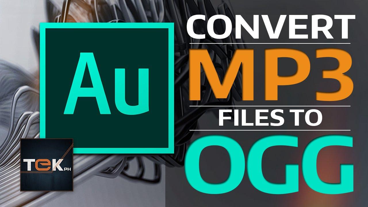 convertir de mp3 a ogg gratis