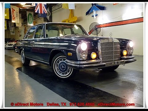 Bullet Proof Car >> 1972 Mercedes-Benz 280SE 4.5 - eDirect Motors - YouTube
