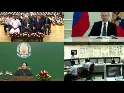 PM Modi, Vladimir Putin & Jayalalithaa Inaugurate Kudankulam Nuclear Plant