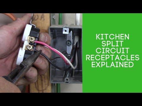 kitchen split circuit receptacles explained youtube restaurant wiring diagram kitchen wiring diagram canada #9