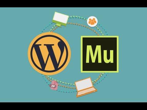 Adobe Muse to Wordpress Template Converter - YouTube