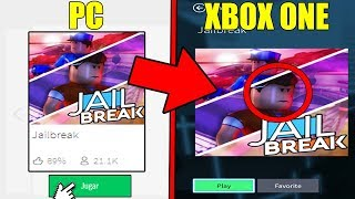 PLAYING JAILBREAK IN CONSOLE!! 😨 ROBLOX★