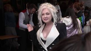 Cyndi Lauper hosts charity Gala Performance