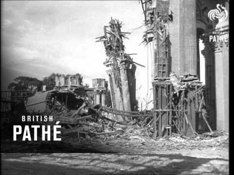 Fine Arts Palace Demolished (1964)
