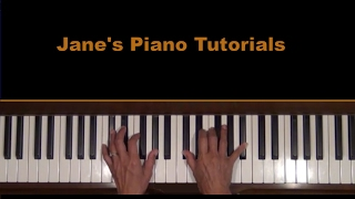 Clayderman Hungarian Sonata Piano Tutorial Part 1