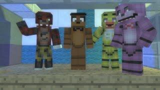 Minecraft ВЫЖИВАНИЯ с МИШКОЙ ФРЕДДИ в Доме из GTA 5 Майнкрафт Пять Ночей с Фредди