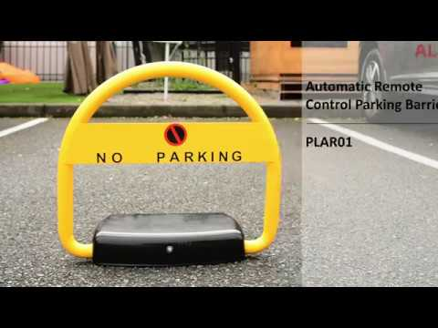2 Patterns Parking Space Saver Lock Car Park Driveway Auto Barrier Alarmed
