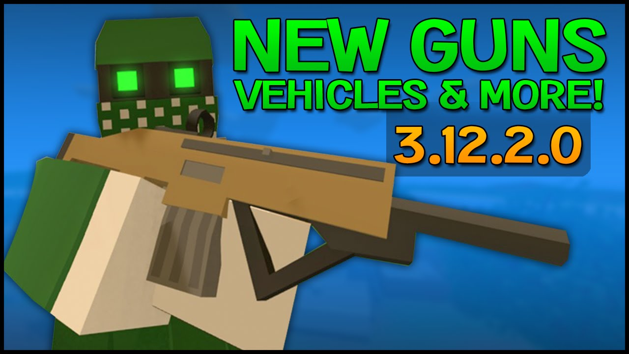 Unturned 3122 Update NEW GUNS VEHICLES MELEE WEAPONS USA MAP