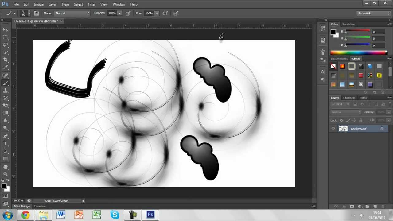 Add text and shapes to an image Adobe