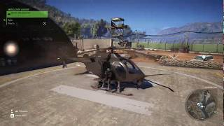 Ghost Recon: Wildlands | How to steal a helicopter with Xrayin [ENG SUBS]