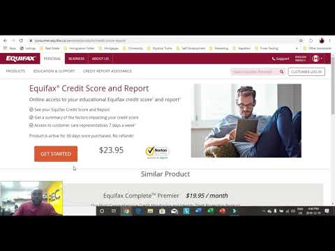 How To Check Your Equifax Credit Report Dec 2019