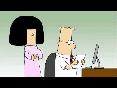 Human Resources In Tv Film Youtube Dilbert Animated Cartoons Customer Complaint; Catbert