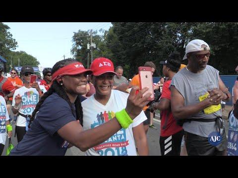 VIDEO: Mayor Keisha Lance Bottoms and Atlanta rapper Jeezy run AJC Peachtree Road Race