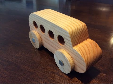 How to Make a Wooden Car!   DIY Project