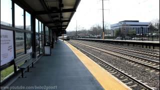 NJT / Amtrak Northeast Corridor: Train Action in Metropark, NJ