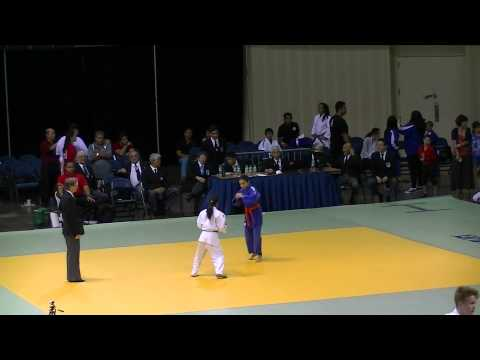 Maddy with Migoto Judo at  the USJF/USJA Jr Nationals 2014, Hawaii