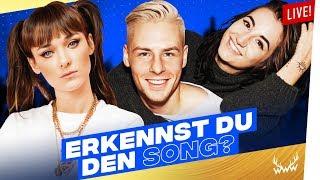 Erkennst DU den Song? | LIVE (mit Rewinside, Jodie Calussi & Larissa Rieß)