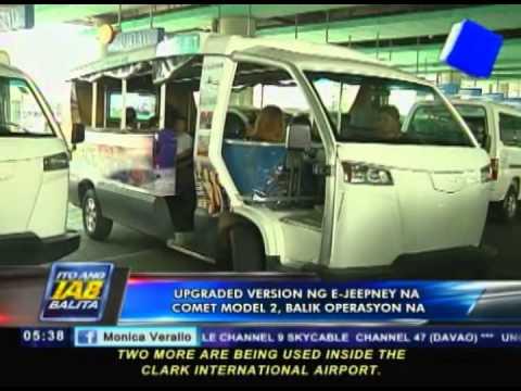 Upgraded version ng E-Jeepney na Comet model 2, balik-operasyon na
