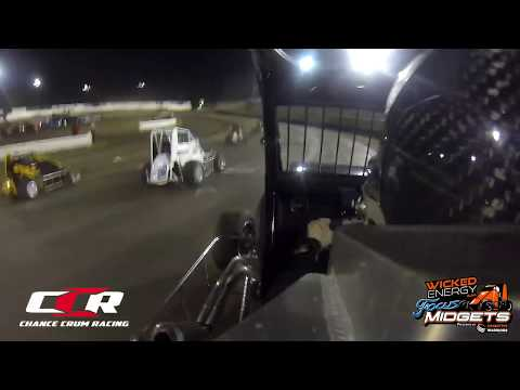 Chance Crum | Northwest Focus Midget Series | Skagit Speedway Dirt Cup Night 2