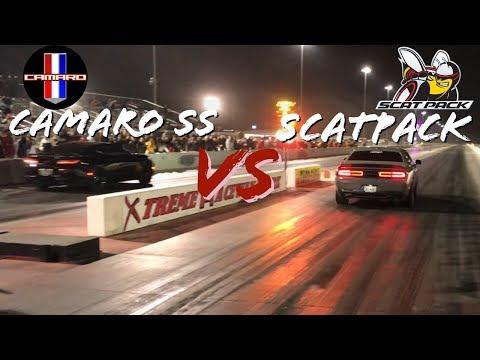 Epic Drag Race - 2019 Scatpack Challenger vs 2018 Camaro SS