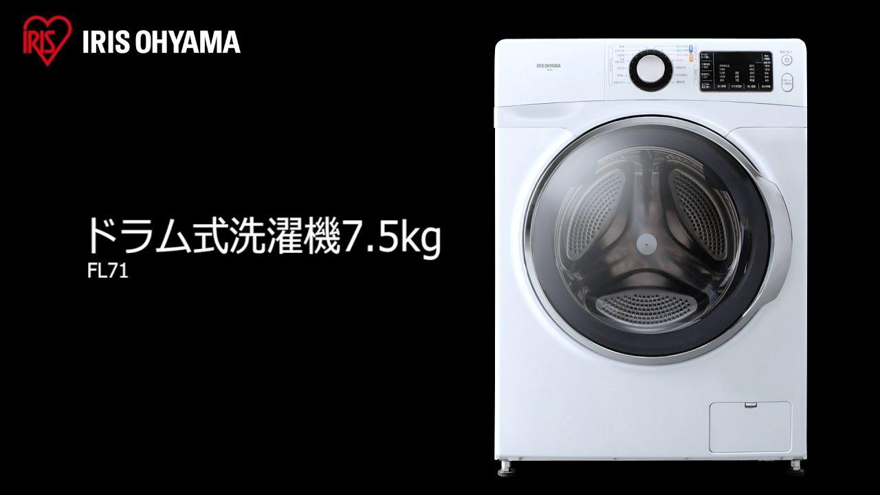 機 洗濯 ドラム 式 アイリス オーヤマ