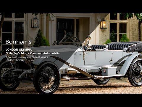 Bonhams Olympia Motorcar Auction 2018 Live Stream