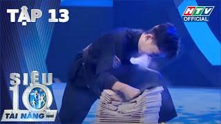 SIÊU TÀI NĂNG NHÍ #13 | Trấn Thành liên tục chặt chém Trọng Hiếu, mệt mỏi khi làm giám khảo với Hari