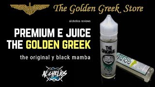 Black Mamba y The Original de GoldenGreek liquidazos premium!!!