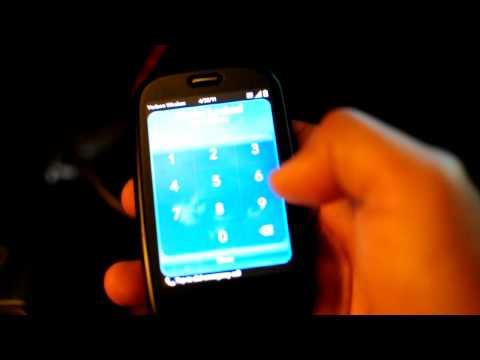 Palm Pre Touchscreen Misfire Problem