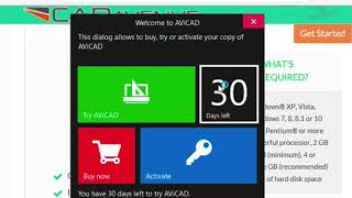 Download and install AViCAD